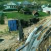 В Нижегородской области «КамАЗ» вылетел с высокого обрыва